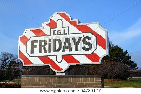 Tgi Friday's Store Logo