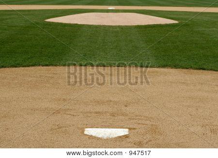 Professional Baseball Infield