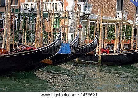Famous city of Venice, Italy