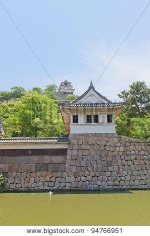 Watch Tower And Main Keep Of Marugame Castle, Japan