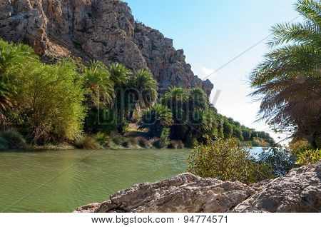 Palm Beach In Preveli