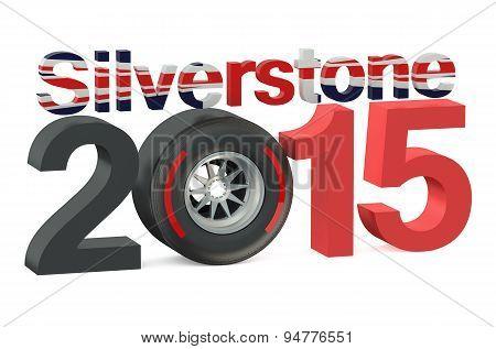 F1 Formula 1  Silverstone 2015 Concept