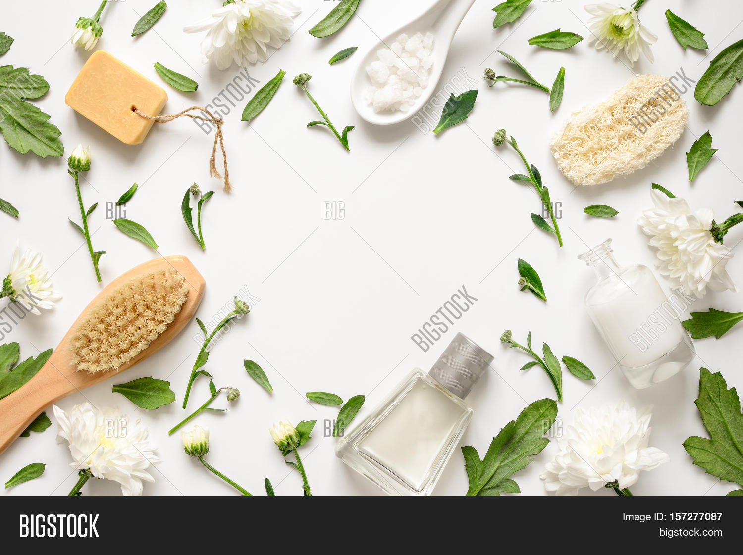 Spa Floral Background Image Photo Free Trial Bigstock