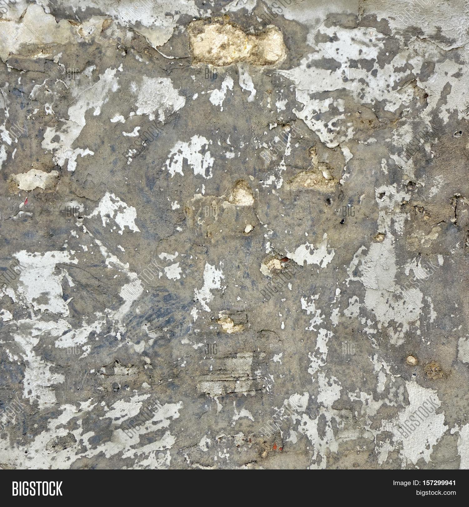 Aged White Cracked Image Photo Free Trial Bigstock