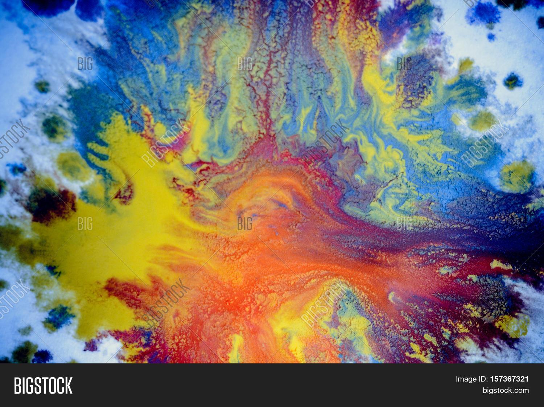 Bursts Multicolored Image Photo Free Trial Bigstock
