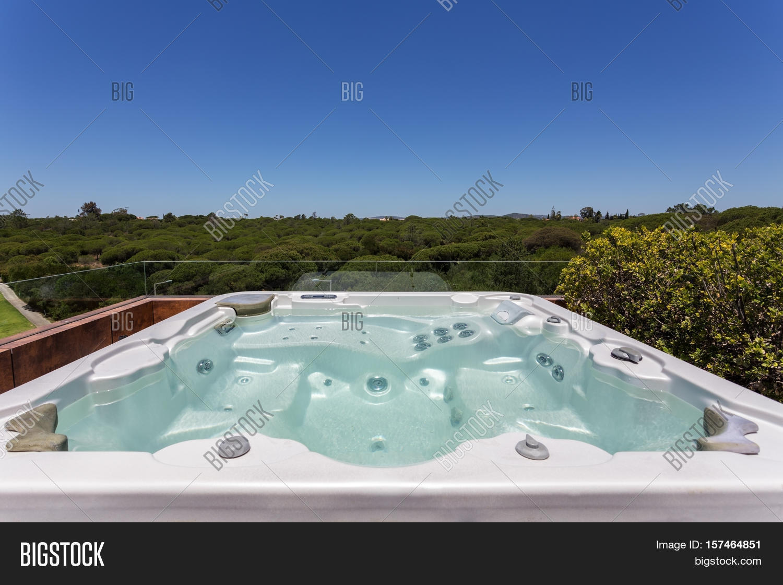 Luxury Jacuzzi Outdoor Image & Photo (Free Trial) | Bigstock