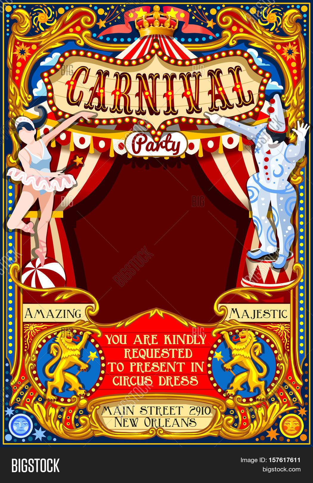Circus Juggler Show Vector & Photo (Free Trial) | Bigstock