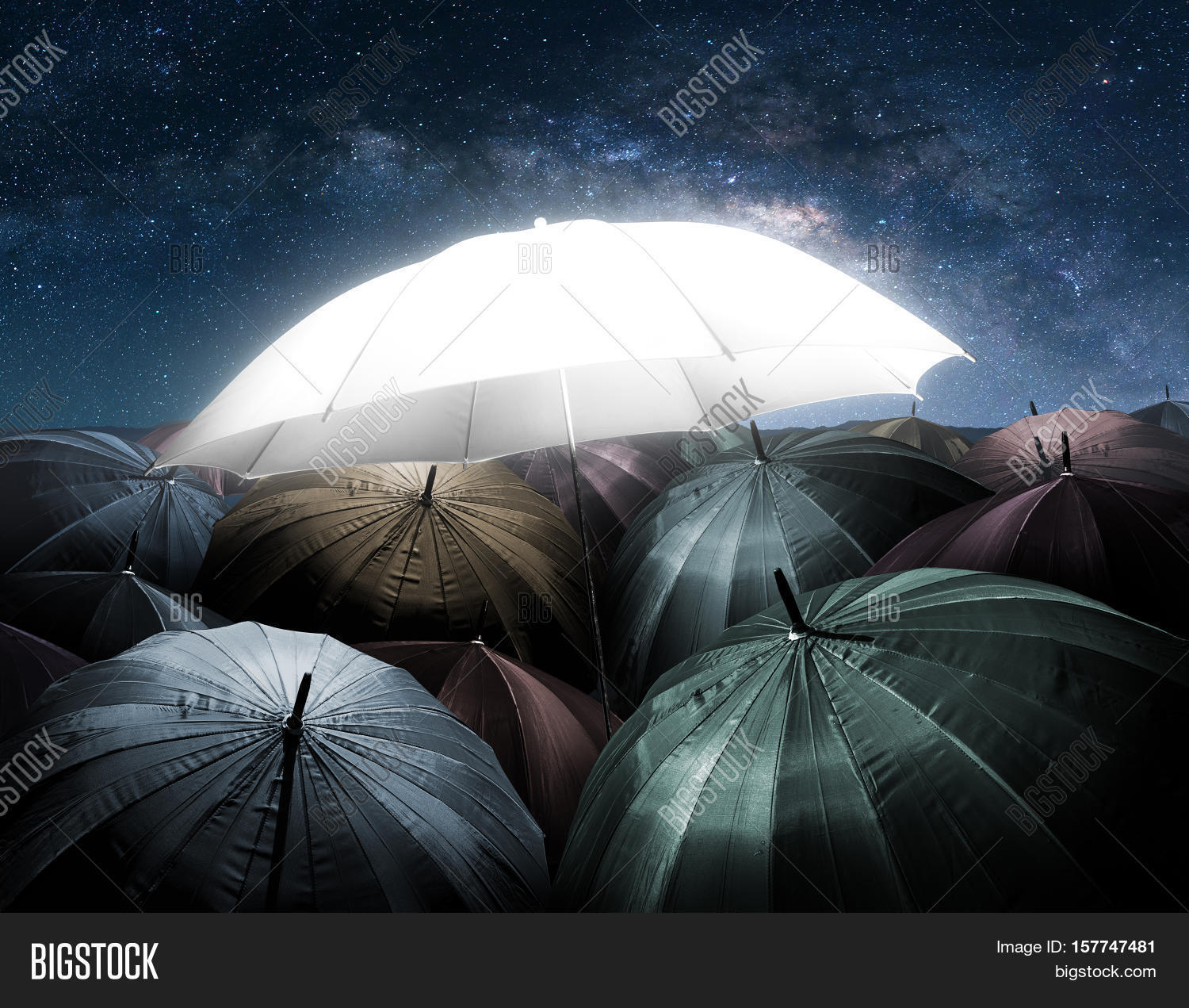 Umbrella Lights Image & Photo (Free Trial) | Bigstock