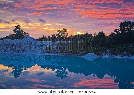 Belitung's Sunset