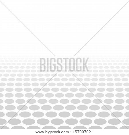 Grey white three dimensional circle background design