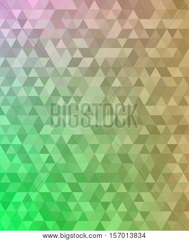 Abstract triangle tile mosaic transition background design