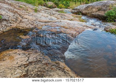 long exposure image of