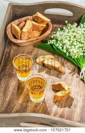 Tough And Sweet Cantucci With Vin Santo