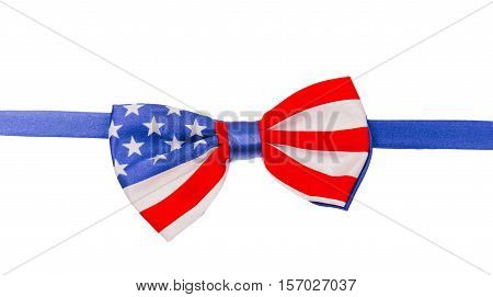 Butterfly Tie American Flag,  Independence Day