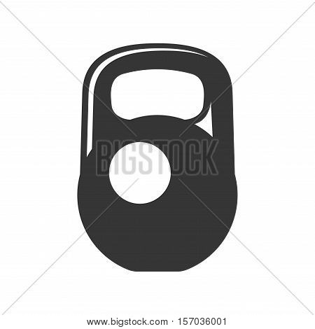 Weight Icon on White Background. Vector illustration