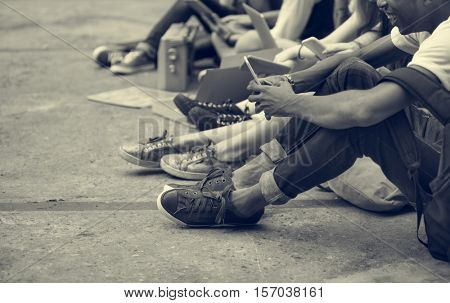 Young People Teen Age Concept