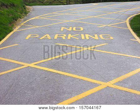 No Park Sign