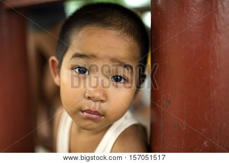 Eye of hope the child in asia