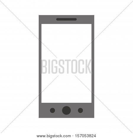 smartphone technology line icon vector illustration design