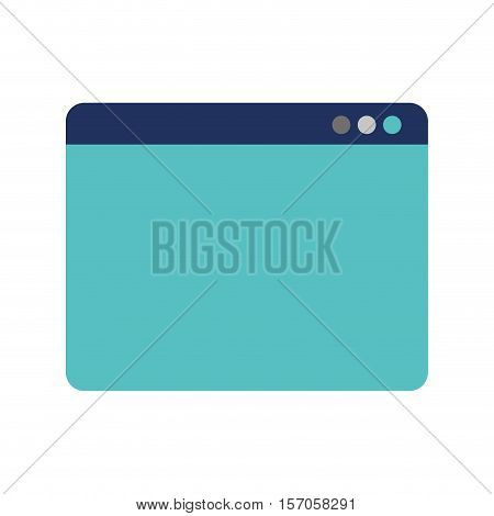 web page template isolated icon vector illustration design