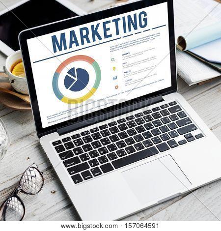 Marketing Product Development Promotion Concept