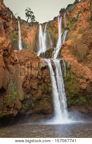 Ozoud Waterfalls, Morocco
