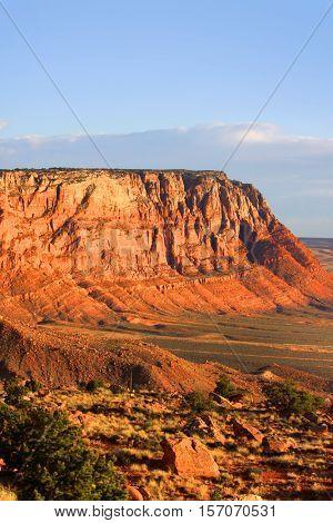 Vermilion cliffs scenic area near near Page Arizona