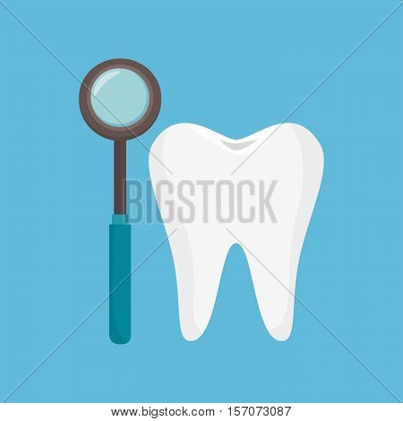 odontology tooth tool icon vector illustration eps 10
