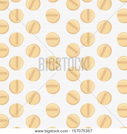 medicine pills seamless pattern vector illustration eps 10
