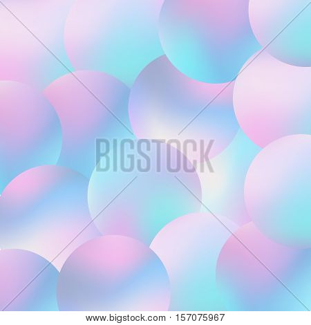 Trendy Fashion Wallpaper Pastel Smooth Texture Hipster Style Backdrop Circle Pearl Blurs Modern Vector Illustration For Web Design Or Printed Products