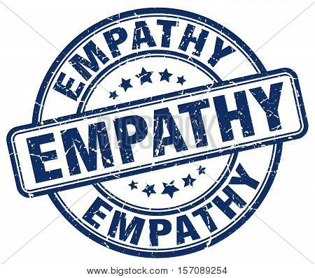 empathy. stamp. square. grunge. vintage. isolated. sign