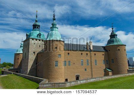 The Kalmar Slott located in Smaland, Sweden