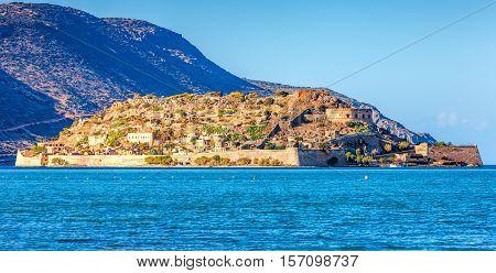 Spinalonga Island, Crete, Greece