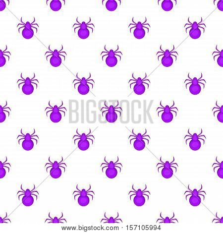 Bug pattern. Cartoon illustration of bug vector pattern for web