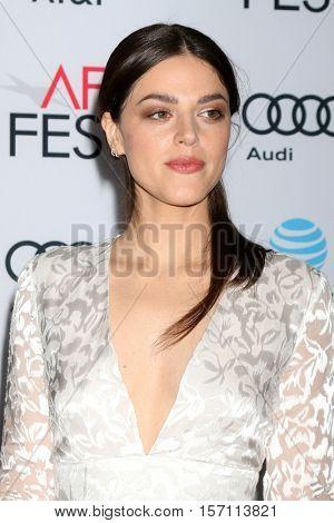 LOS ANGELES - NOV 15:  Callie Hernandez at the
