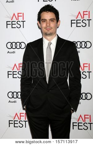 LOS ANGELES - NOV 15:  Damien Chazelle at the