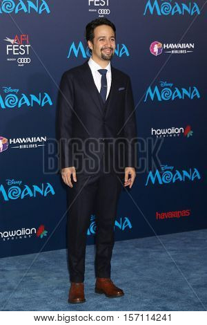 LOS ANGELES - NOV 14:  Lin-Manuel Miranda at the