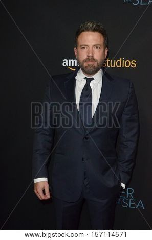 LOS ANGELES - NOV 14:  Ben Affleck at the