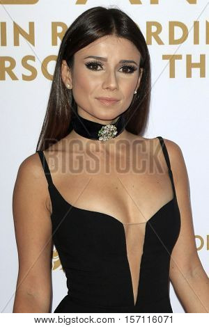 LAS VEGAS - NOV 16:  Paula Fernandes at the 2016 Latin Recording Academy Person of the Year at MGM Grand Garden Arena on November 16, 2016 in Las Vegas, NV