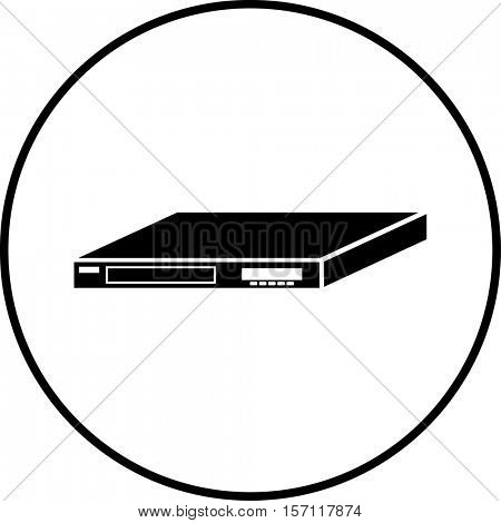 disc player symbol