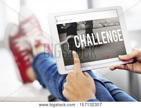 Success Start Challenge Goal Concept