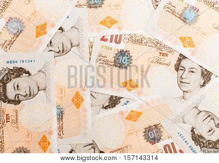 Pound Currency Background
