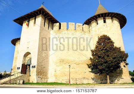 One of the national symbols of Republic of Moldova - medieval fortress situated in a small Moldavian town - Soroca.