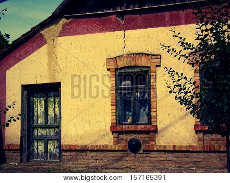 A nice little old village hause in Hungary
