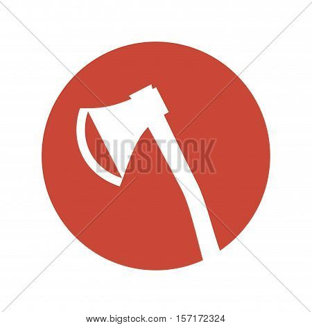 ax tool isolated icon vector illustration design