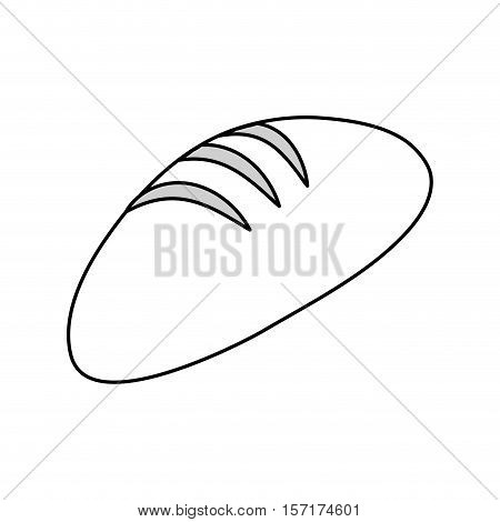 bread fresh bakery icon vector illustration graphic design