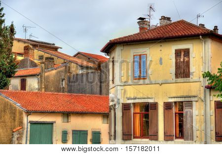 Buildings in Dax, a town in the Landes Department of France