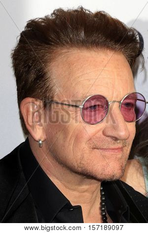 LOS ANGELES - NOV 14:  Bono at the Glamour Women Of The Year 2016 at NeueHouse Hollywood on November 14, 2016 in Los Angeles, CA