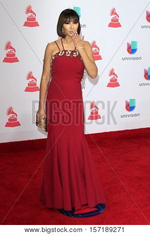 LAS VEGAS - NOV 17:  Jackie Cruz at the 17th Annual Latin Grammy Awards at T-Mobile Arena on November 17, 2016 in Las Vegas, NV