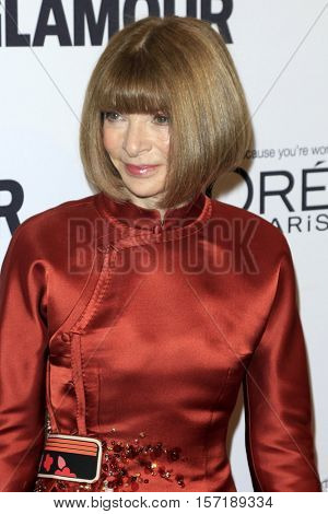 LOS ANGELES - NOV 14:  Anna Wintour at the Glamour Women Of The Year 2016 at NeueHouse Hollywood on November 14, 2016 in Los Angeles, CA